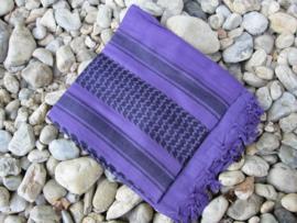 Plo sjaal Lila Zwart