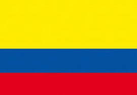 Vlag Colombia 90x150 cm