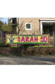 Banner Sarah 180 cm x 40cm