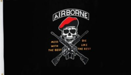 Vlag  Airborne Dont Mess with the Best