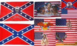 Rebel Vlag / Confederatie vlag