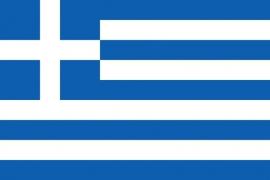 Griekenland grote vlag XXXL 150 x 250 cm