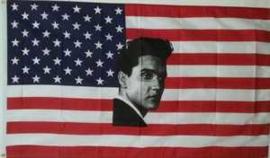 Vlag  van Elvis (The King of Rock 'n Roll)