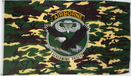 Vlag Airborne-Screaming Eagles