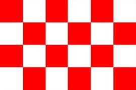 Vlag Noord-Brabant 90 x 150 cm