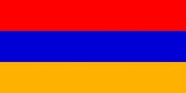 Vlag Armenie 90x150 cm