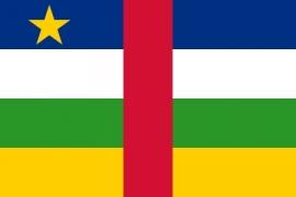 Vlag van Centraal-Afrikaanse Republiek