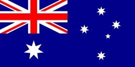 Australië grote vlag 150 x 250 cm