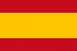 Vlag Spanje zonder wapen
