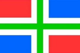 Groningse Vlag Groningen 90x150 cm