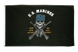 Vlag Amerika US Marine Corps Mess with the best