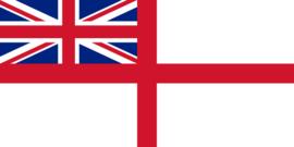 Vlag van  Royal Navy