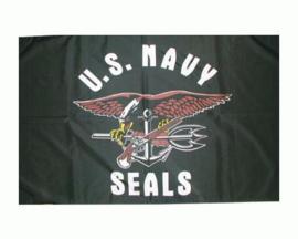 Vlag U.S. Navy SEALs Militaire vlaggen