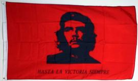 vlag Che Guevara Hasta La Victoria Siempre