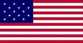 Vlaggen Amerika 15 sterren  (1795-1818)