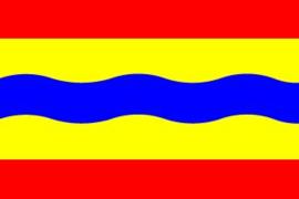 vlaggetje Overijssel voor boot of camping