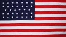 Vlag Amerika 34 sterren (1861-1863)