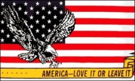 Vlag'America - Love it or leave it'