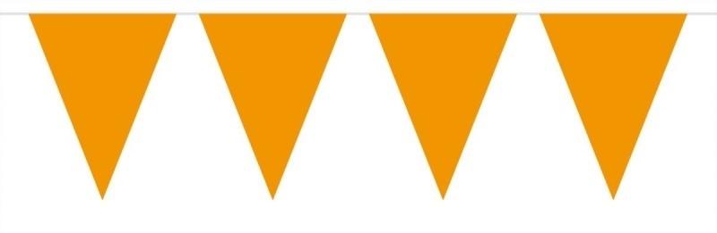 Oranje vlaggen lijn   10m