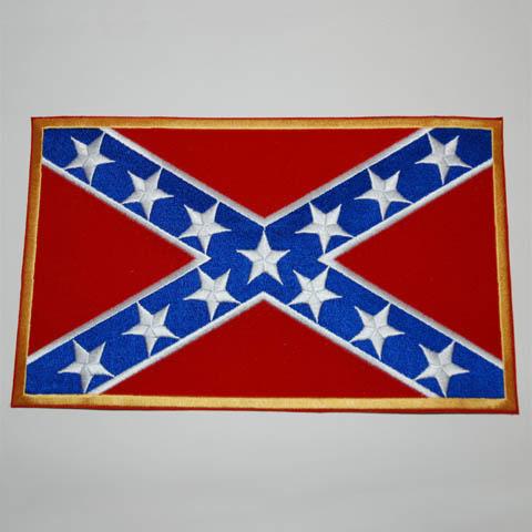 Rebel embleem groot vlag