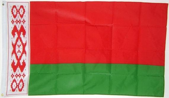 Vlag van  wit-rusland / Belarus 90 x 150 cm