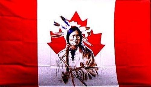 Vlag Canada Indian vlag