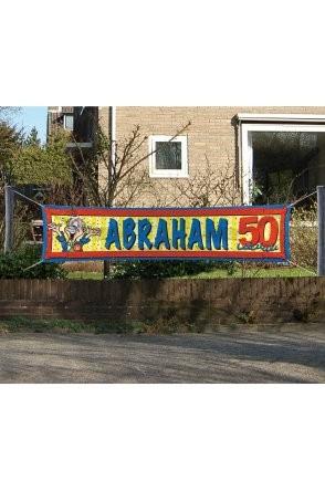 Banner Abraham 180 cm x 40cm