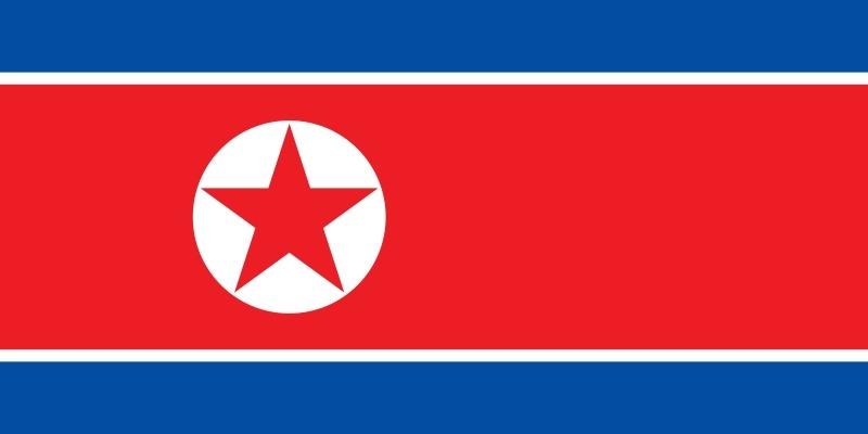 Vlag van Noord-Korea 150 x 250 cm