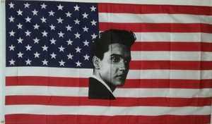 Vlag  van Elvis