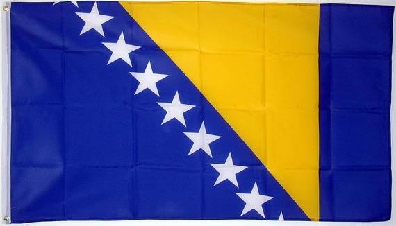 Bosnië en Herzegovina vlag