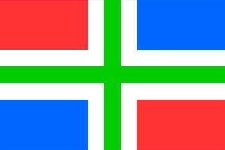 Provincievlaggen Provincie Groningen