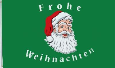 Vlag kerstmis Weihnachten groen