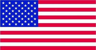 Vlag van  Amerika Stars and Stripes