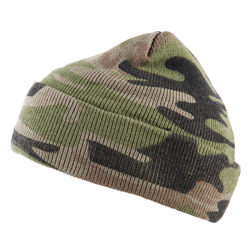 Fostex commando muts camouflage kleur woodland