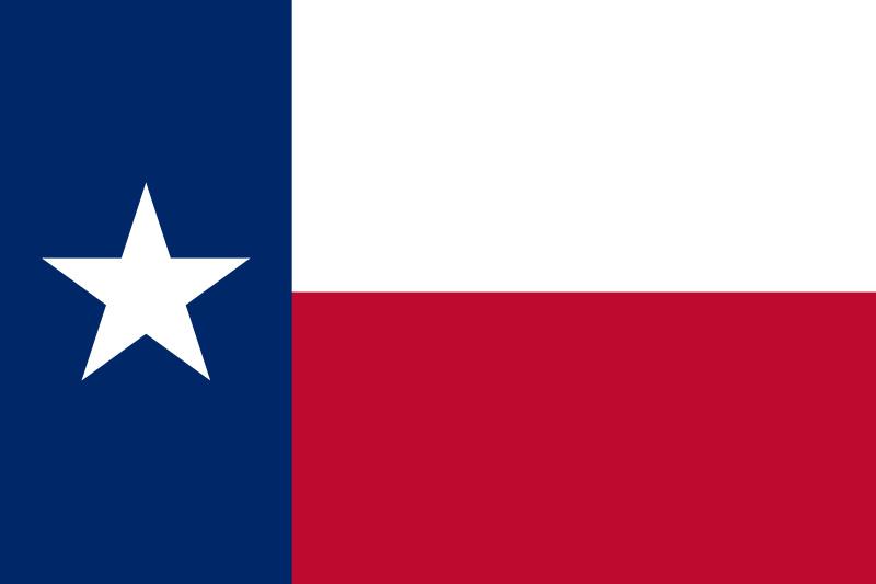 Vlag Texas (Lone Star Flag)