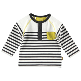 Shirt l.sl. Striped white, Bess