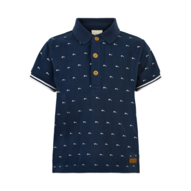 T-shirt Polo SS GOTS Certified navy, Enfant