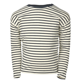 Ls T-shirt-oekotex classic Navy, Enfant