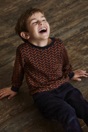 LS Sweater-Gots Classic Navy, Enfant