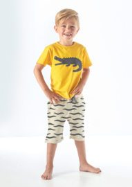 Sweat Short Black waves, Tapete