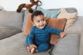 Levi legging blue, newborn Noeser