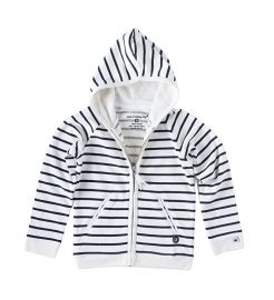 Little label Hoody black/white unisex kids