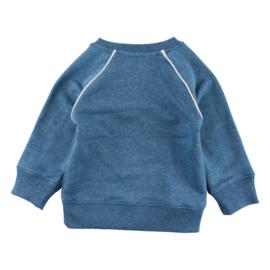 Sweat-Oekotex Mallard Blue, Smallrags