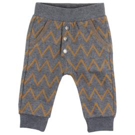 Horizon pants Dark grey melange, Enfant