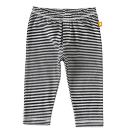 Newborn basic pants fine black stripes, Little label