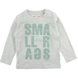 Eddy LS Top Aqua Grey, Smallrags