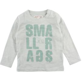 Eddy LS Top Aqua Grey, Smallrags