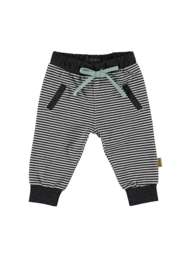 Jersey Pants Striped antracite, Bess