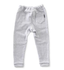 Basic sweatpants light grey mel, Little Label