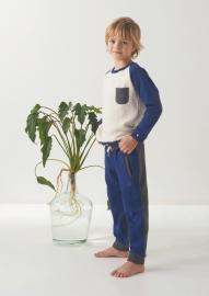 Sweatpants Fancy Style navy blue, Little Label
